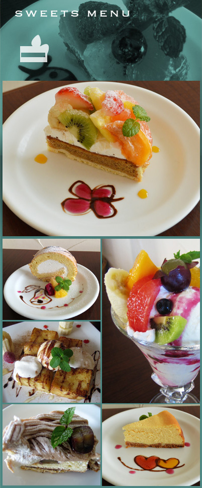 From our original cakes and parfaits to French toast and others, our sweets will appeal to your tastes.
